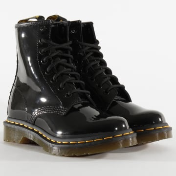 Boots Femme 1460 Patent Lamper 11821011 Black