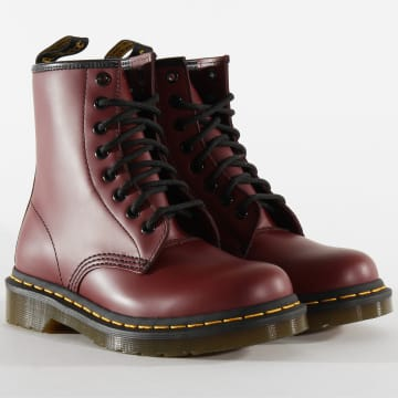 Boots Femme 1460 Smooth 11822600 Cherry Red