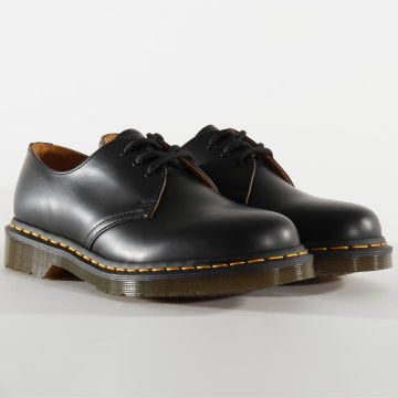 Dr Martens - Chaussures Femme 1461 Smooth 11838002 Black