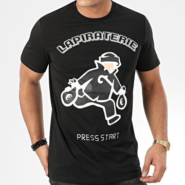 La Piraterie - Tee Shirt Feteman Noir