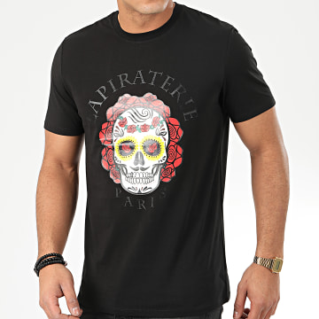 La Piraterie - Tee Shirt Santa Muerte Noir