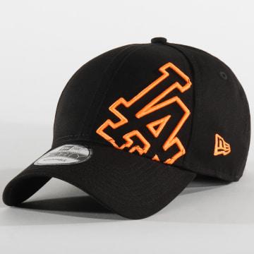 Casquette Baseball 9Forty Los Angeles Dodgers 12150292 Noir Orange