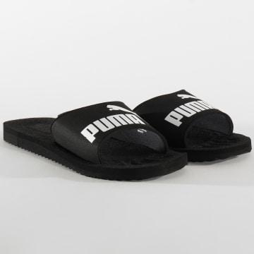 Puma - Claquettes Purecat 360262 Black White