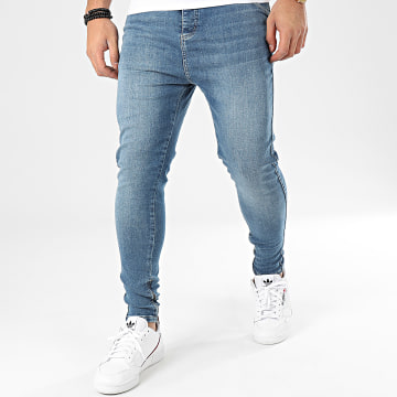 Jean Skinny Drop Crotch 15105 Bleu Denim