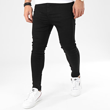 Jean Skinny Drop Crotch 15106 Noir