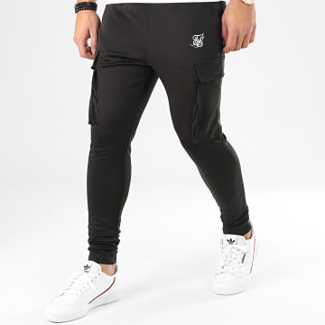SikSilk - Pantalon Jogging Poly Athete 15510 Noir