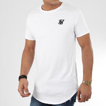 SikSilk - Tee Shirt Oversize Core 15812 Blanc