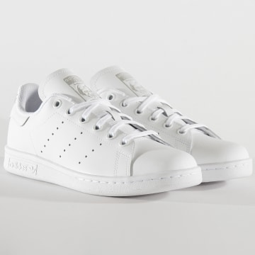 Adidas Originals - Baskets Femme Stan Smith EF4913 Footwear White Silver Metallic