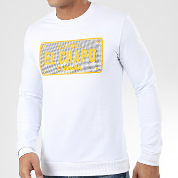 Classic Series - Sweat Crewneck A Strass TS420 Blanc