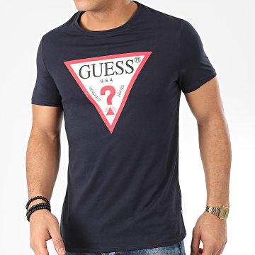 Guess - Tee Shirt M01I71-I3Z00 Bleu Marine