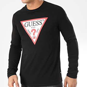 Tee Shirt Manches Longues M01I72-J1300 Noir