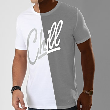 Tee Shirt Chill Reflective Blanc