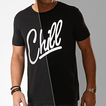 Luxury Lovers - Tee Shirt Chill Reflective Noir