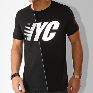 Tee Shirt NYC Reflective Noir