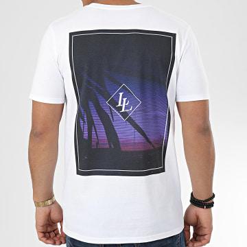 Tee Shirt Crepuscular Blanc
