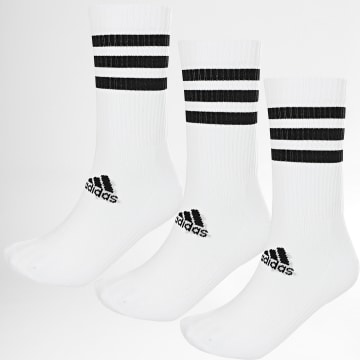 Adidas Performance - Lot De 3 Paires De Chaussettes DZ9346 Blanc Noir