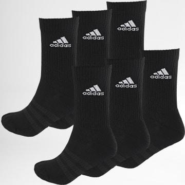 Adidas Performance - Lot De 6 Paires De Chaussettes DZ9354 Noir