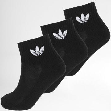 Adidas Originals - Lot De 3 Paires De Chaussettes FM0643 Noir