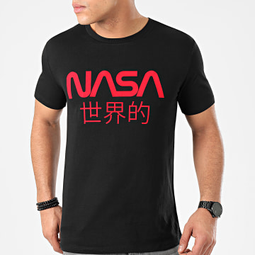 NASA - Tee Shirt Japan Noir Rouge