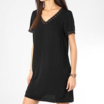 Robe Femme Manches Courtes Juma Noir