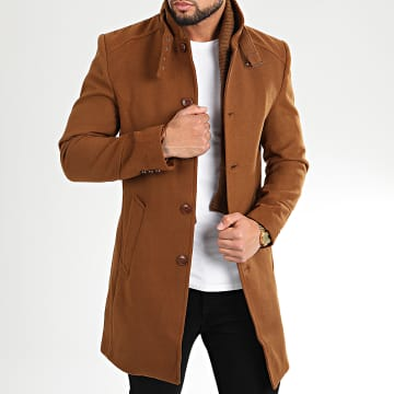 Armita - Manteau Caban-22 Marron