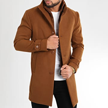 Armita - Manteau Caban-23 Marron