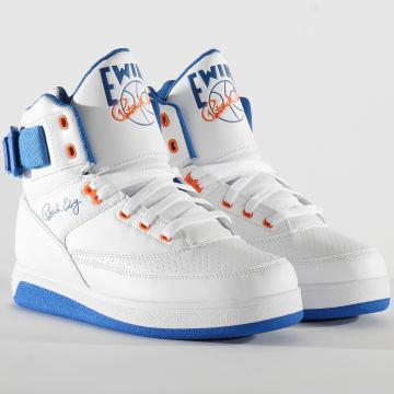 Ewing Athletics - Baskets 33 Hi Orion 1BM00640 White Princess Blue Vibrant Orange