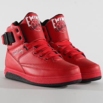 Ewing Athletics - Baskets 33 Hi Orion 1BM00640 Chinese Red Black White