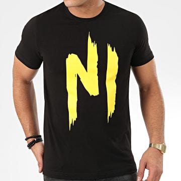 Ninho - Tee Shirt TS01 Noir Jaune
