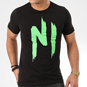 NI by Ninho - Tee Shirt TS01 Noir Vert