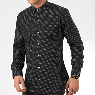 Paname Brothers - Chemise Manches Longues CH118 Noir