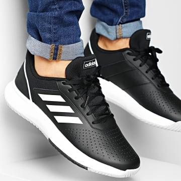 adidas - Baskets Courtsmash F36717 Core Black Cloud White