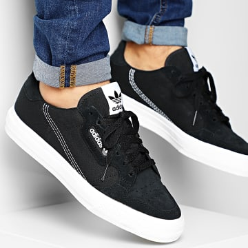 Adidas Originals - Baskets Continental Vulc EF3524 Core Black Cloud White