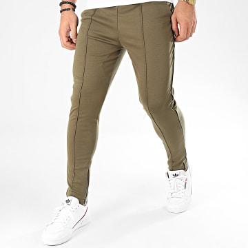 Pantalon 1671 Vert Kaki Noir