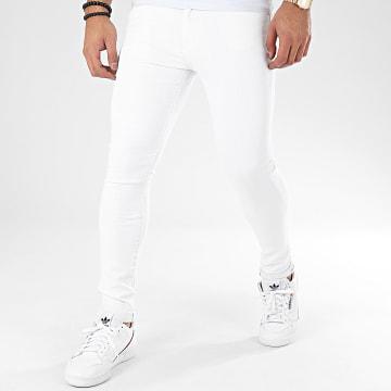 Jean Skinny JK901 Blanc