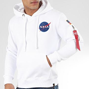 Sweat Capuche Space Shuttle 178317 Blanc