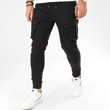 Pantalon Cargo GF79003 Noir