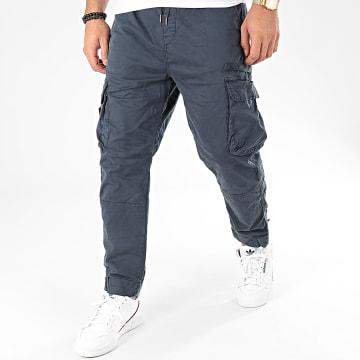 Pantalon Cargo KD67085 Bleu Marine