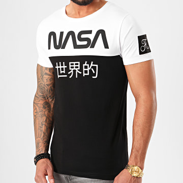Tee Shirt Japan Exploration Avec Patch 340 Noir Blanc