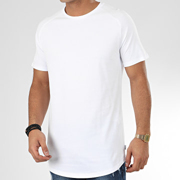 Tee Shirt Oversize Curved Blanc