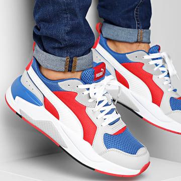Puma - Baskets X-Ray 372602 Royal White REd High Rise Grey