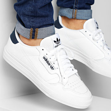 Baskets Continental Vulc EG4588 Footwear White Collegiate Navy