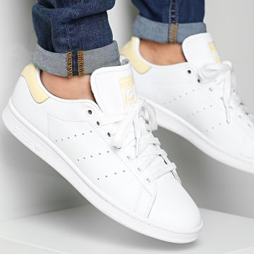 Adidas Originals - Baskets Stan Smith EF4335 Cloud White Easy Yellow