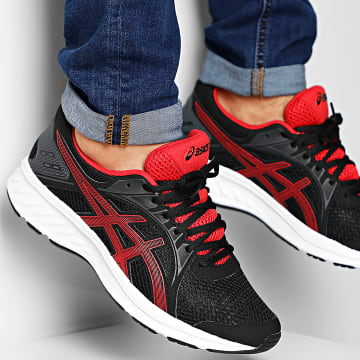 Asics - Baskets Jolt 2 1011A167 Black Classic Red