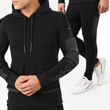 Ikao - Ensemble Jogging F705 Noir