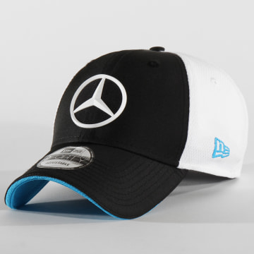 Casquette Baseball 9Forty Mercedes Team Launch Replica 12354225 Noir Blanc