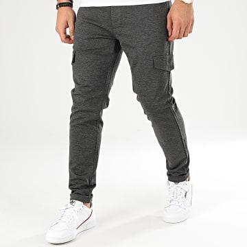 Pantalon Chino Mark Gris Anthracite Chiné