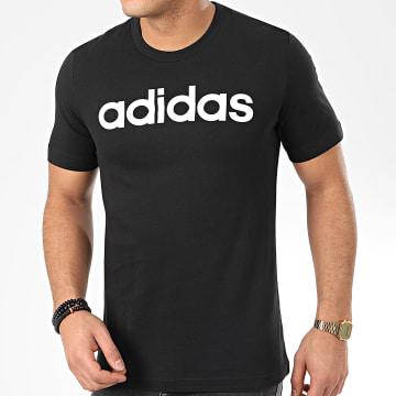 Tee Shirt Essential Linear Logo DU0404 Noir Blanc