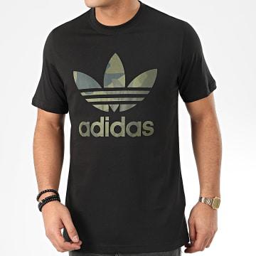 Adidas Originals - Tee Shirt Camo Infill FM3338 Noir