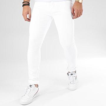 GRJ Denim - Jean Slim ADJ1001 Blanc